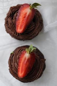 šokolādes kēksiņi