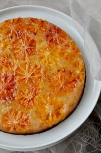 sarkano apelsīnu kūka
